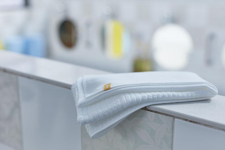 1枚で洗えて、拭ける銭湯タオル